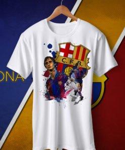 TPCAL FC BARCELONA Legends Round Neck T-Shirt