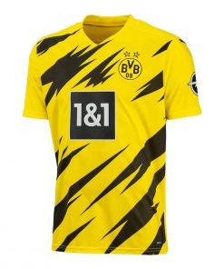 Borussia Dortmund Home Football Jersey with Shorts 2020-21