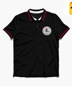 TPCAL Mohun Bagan Black Cotton Polo T-Shirt