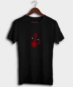 Deadpool Art Cotton T-Shirt