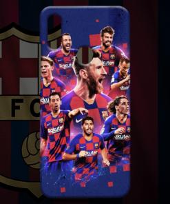 FC Barcelona Squad 2019/20 Mobile Back Cover
