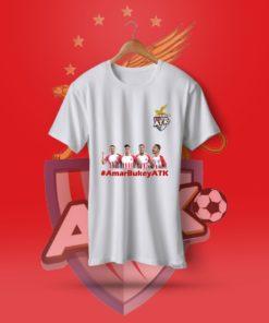AmarBukeyATK White Cotton T-Shirt