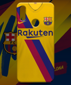 FC Barcelona Away Jersey Mobile Back Cover
