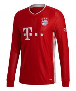 Bayern Munich Full Sleeve Home Football Jersey With Shorts 2020-21