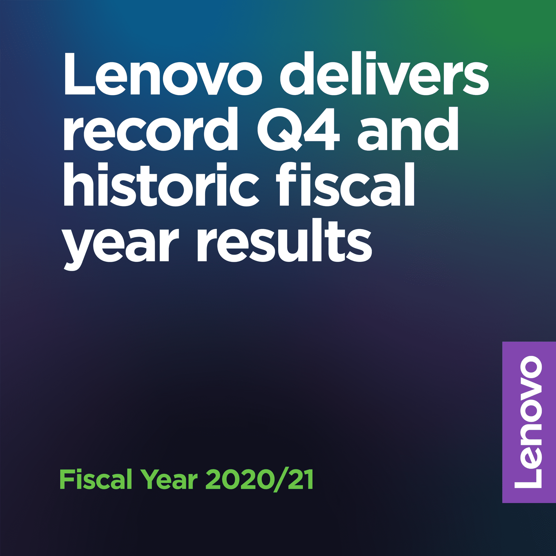 Lenovo has earned $60 billion for its 2020-21 fiscal year