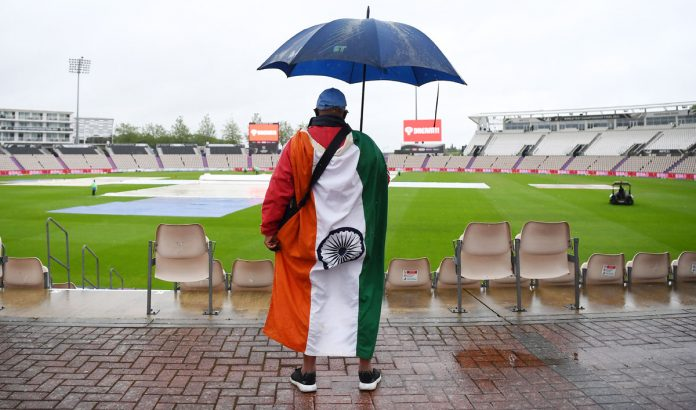 Rain washed out Day 4 of the World Test Championship Final