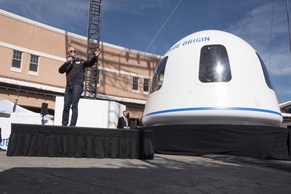 Blue Origin auctioned the New Shepard ride with Jeff Bezos for a whooping amount of $28 million. Who is this person?