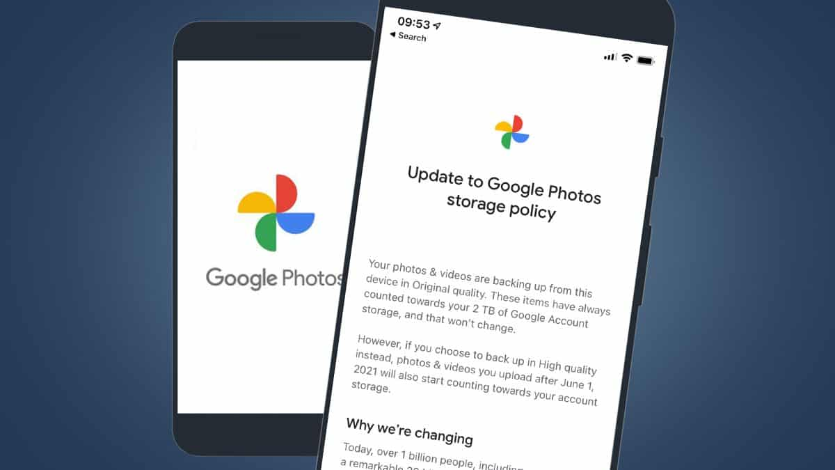 What did Google Photos do in their new policy?