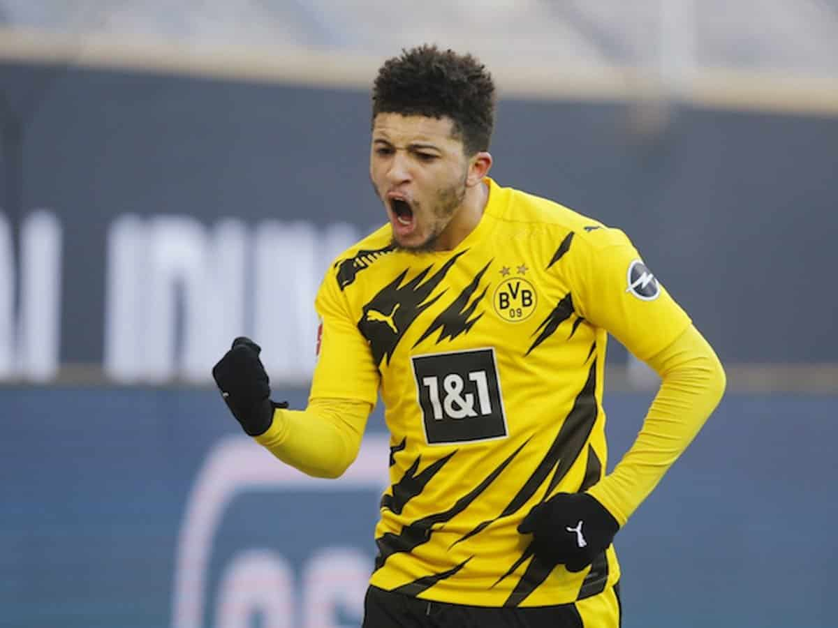 Manchester United offering an option to Borussia Dortmund, for Jadon Sancho