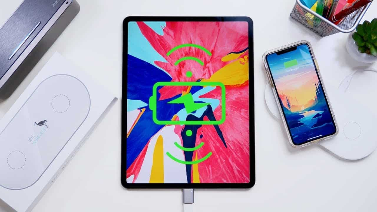 Redesigning iPad Mini and iPad Pro with wireless charging