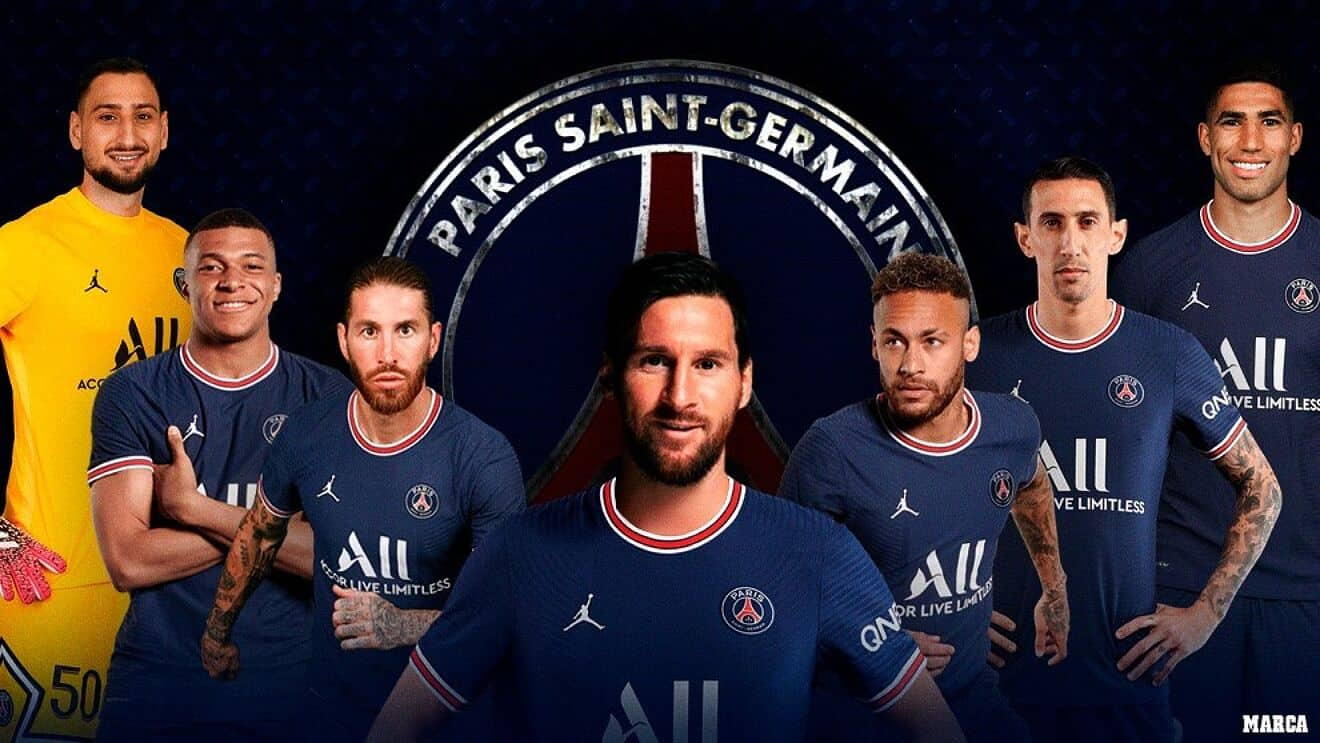 Messi's new contract at PSG and the earnings of the other players in the club
