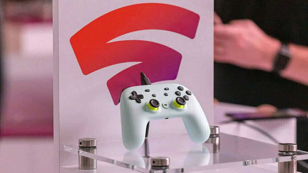 Google Stadia game directly responds to touch