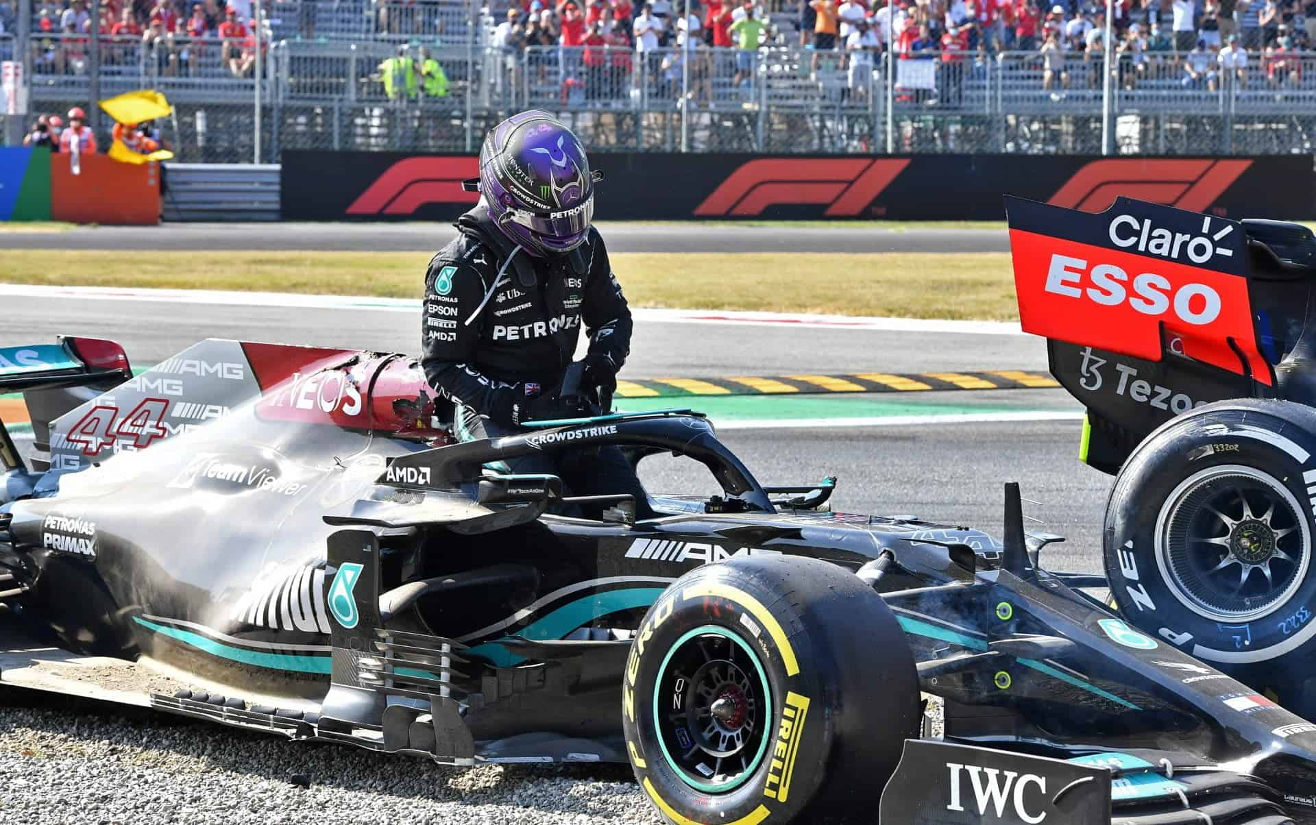 Hamilton refused to keep the device on his car by which he was once saved!
