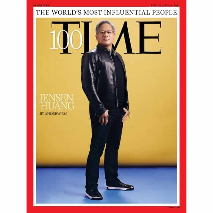 Nvidia CEO Jensen Huang is on Time's 100 Most Influential People List