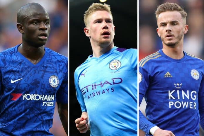Who among Kante, De Bruyne, and Fernandes is the best central midfielder in the world?