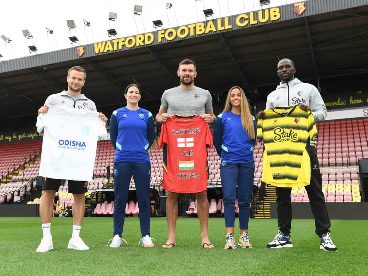 Odisha FC signing the partnership deal with the PL outfit Watford