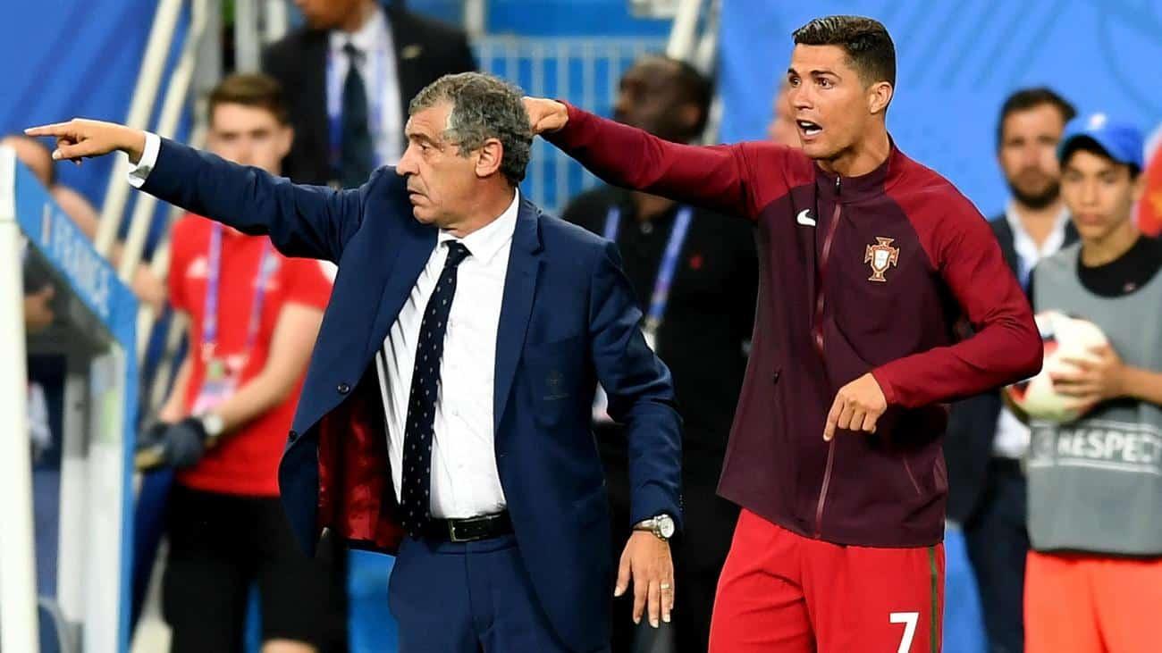Portugal Boss, Fernando Santos Reiterates That Man United Uses Cristiano Ronaldo Incorrectly